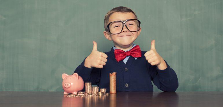 image; student saving money