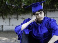 Image: Sad Graduate