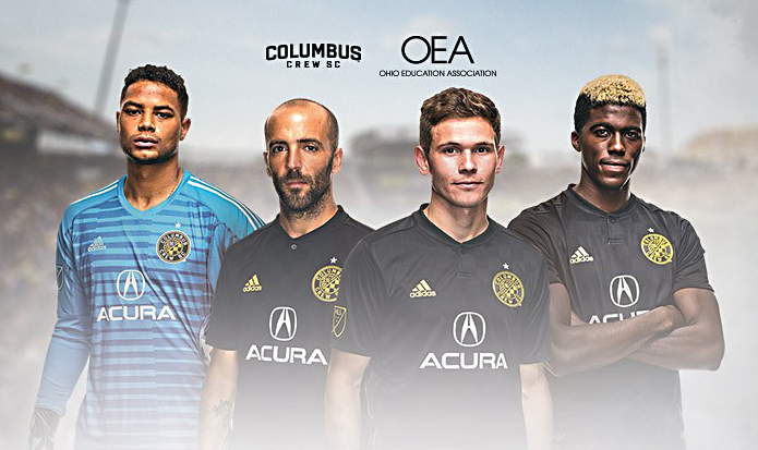 The Columbus Crew Soccer Team