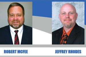Pictured OEA Endorsed Candidates Robert McFee & Jeffrey Rhodes for the STRS Retirement Board