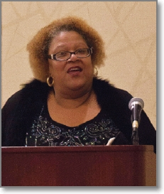 Pictured: 2018 DLAMC keynote speaker Rev. Gloria Wade-Dillon.