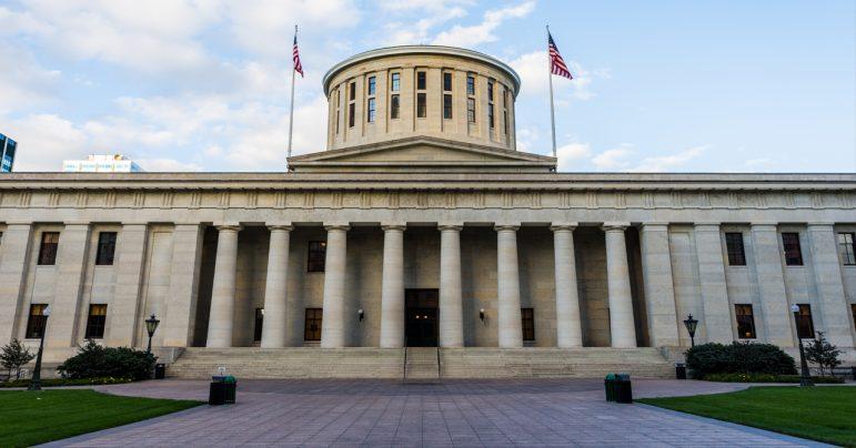 Image: Ohio Statehouse, OEA Educator Lobby Day