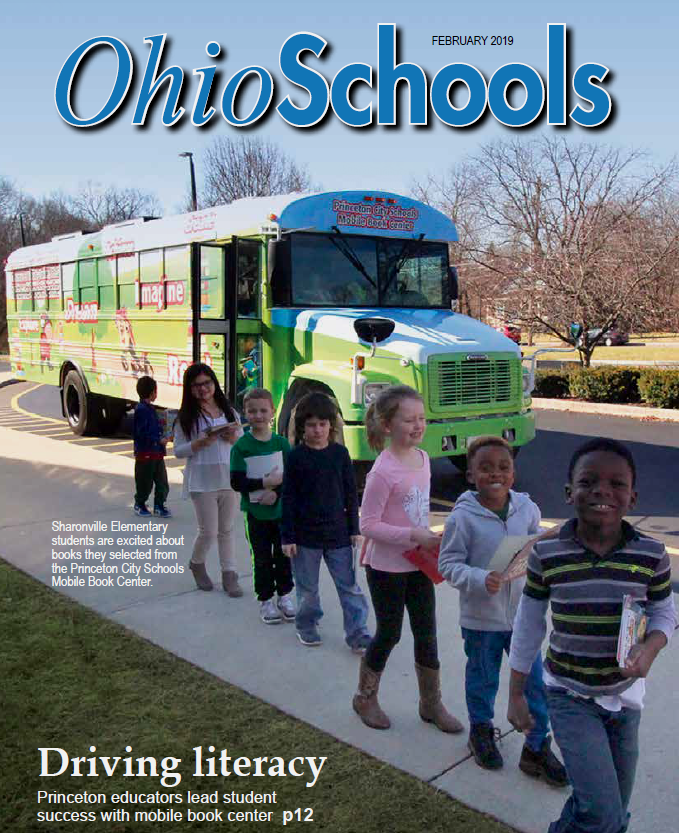 Oho Schools Magazine Cover — Feb. 2019