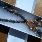 Image: OEA Educational Foundation: Blue Montana Necklace w/Kumihimo Beads