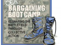 Image: OEA Bargaining Boot Camp Logo
