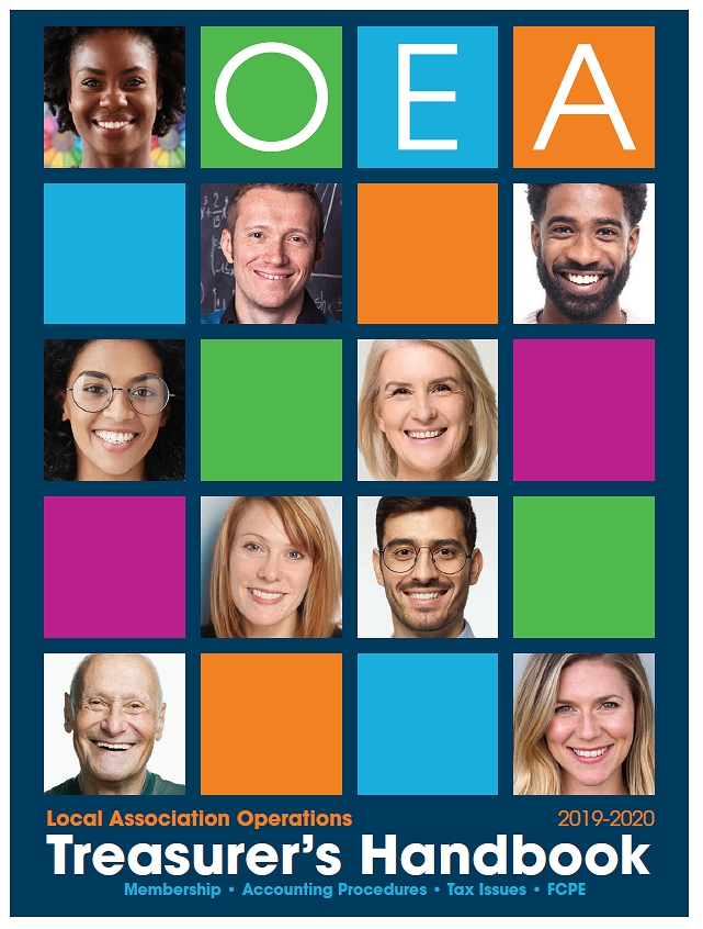 Image: 2020 Treasuer's Handbook Cover
