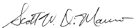Scott Dimauro Signature