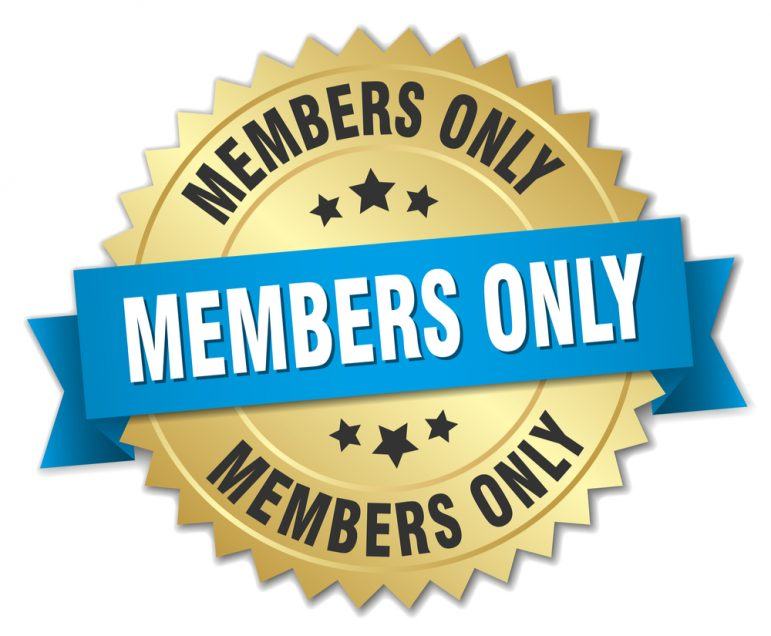 Image: Member-only Benefit