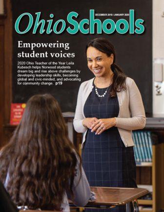 Image: Dec. 2019 Cover Ohio Schools