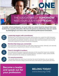 Early Career Educator Leadership Flyer