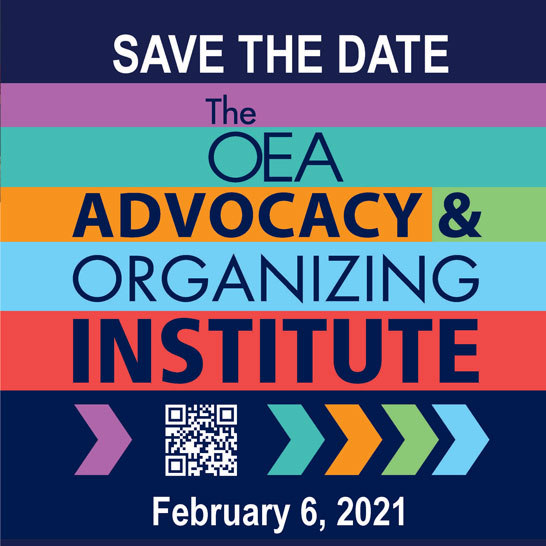 2021 Advocacy and Organizing Institute