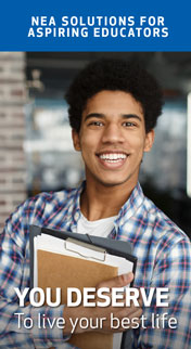 NEA Member Benefit Flyer – Aspiring Educator