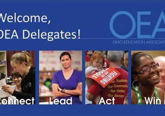 Ohio Education Association's Spring 2018 Representative Assembly — Friday May 11, 2018, Morning Program